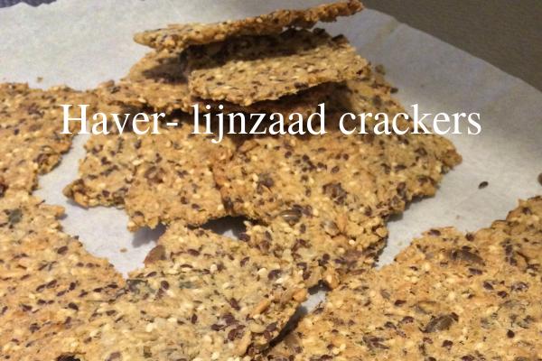 Haver- lijnzaad crackers