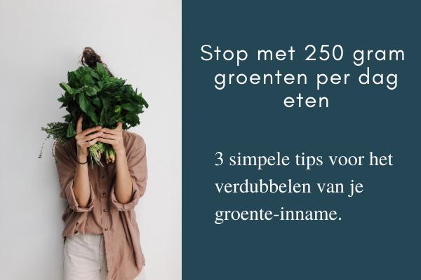 3 tips groenten